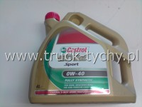 OLEJ 0W40 EDGE SPORT FULLY SYNTHETIC 4L CASTROL