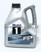 OLEJ 0W40 TURBO DIESEL 1 FULLY SYNTHETIC 4L MOBIL
